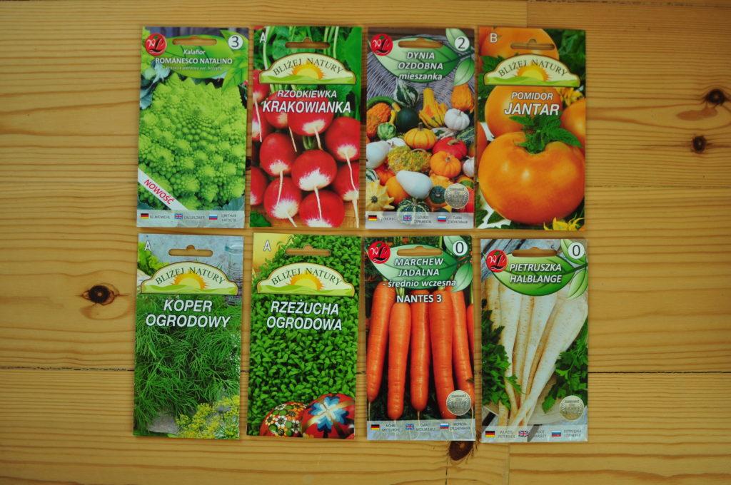 Jakie nasiona kupiłem