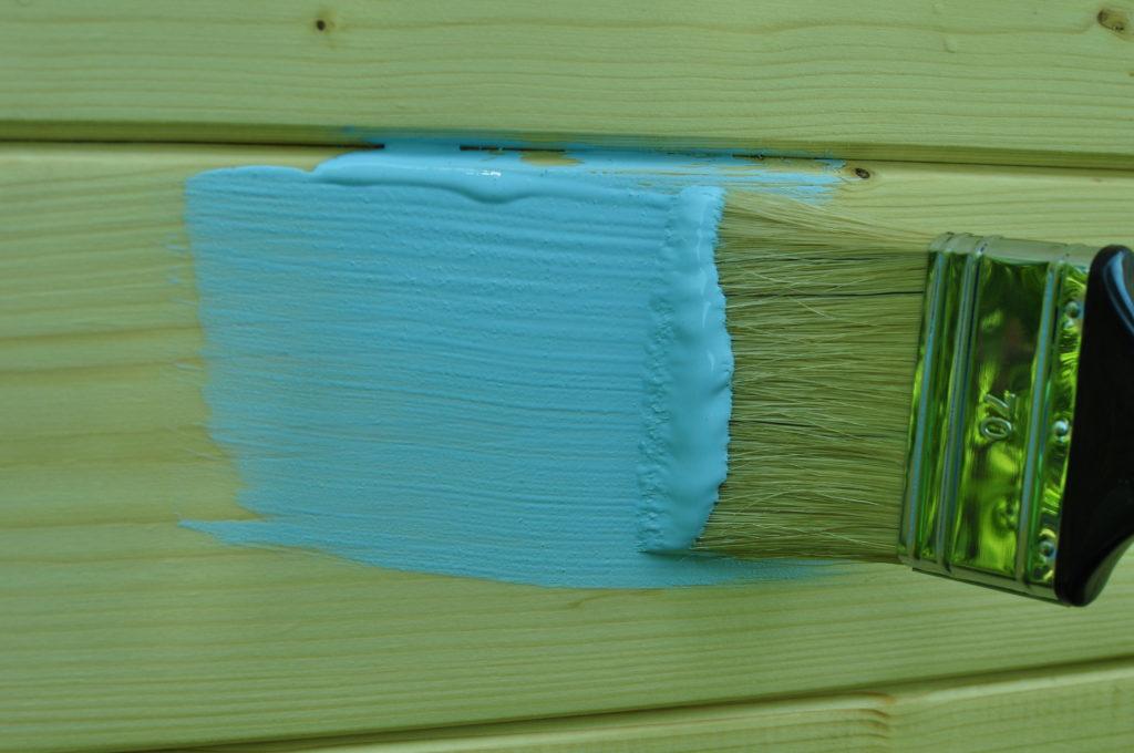 Niezapominajka - farba do drewna