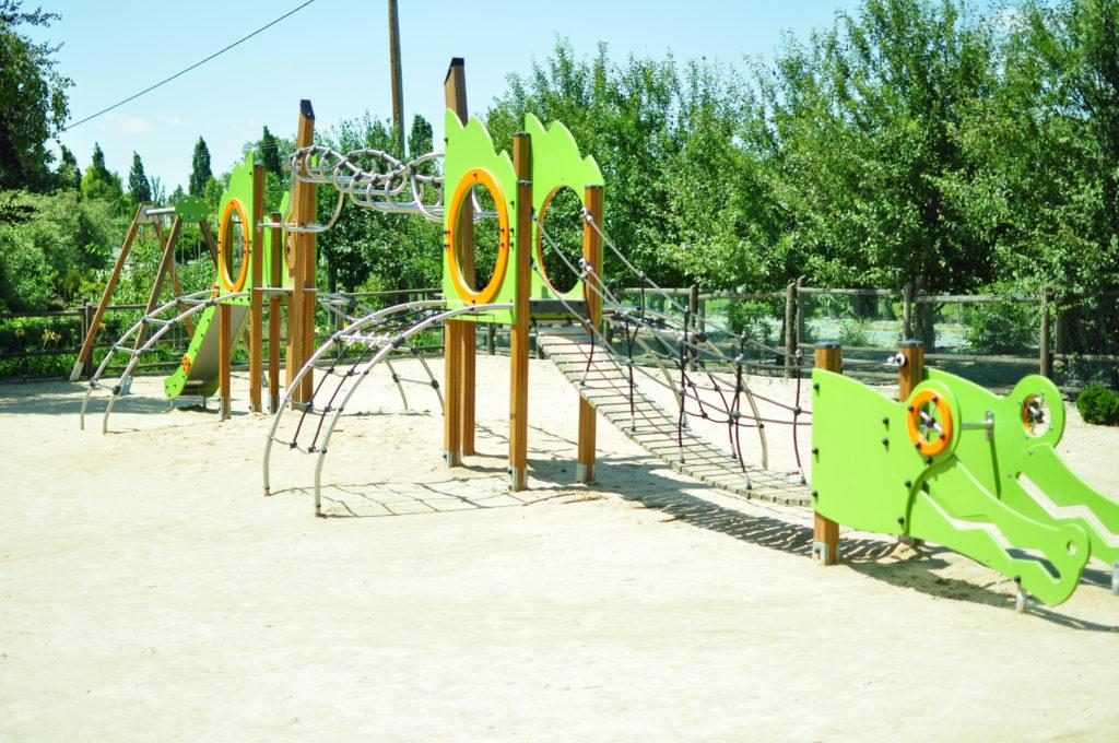 Plac zabaw w Arboretum Wojsławice