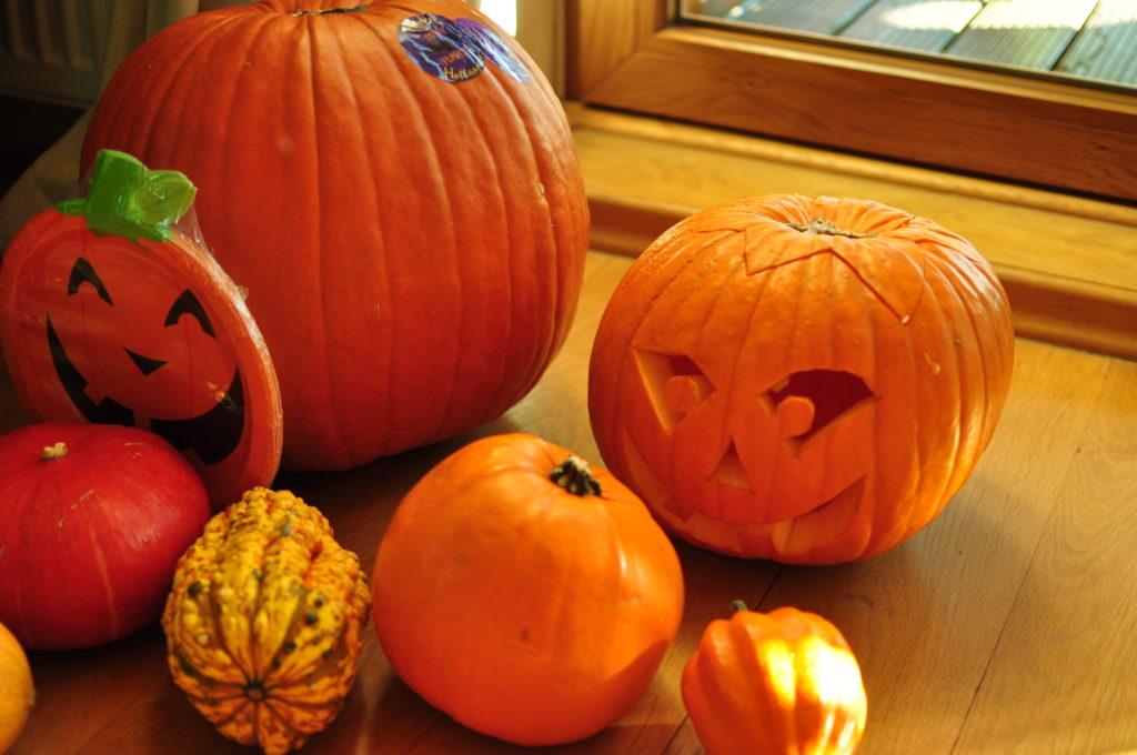 Dynie halloweenowe